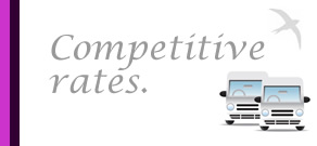 competitive coach hire rates edinburgh glasgow scotland